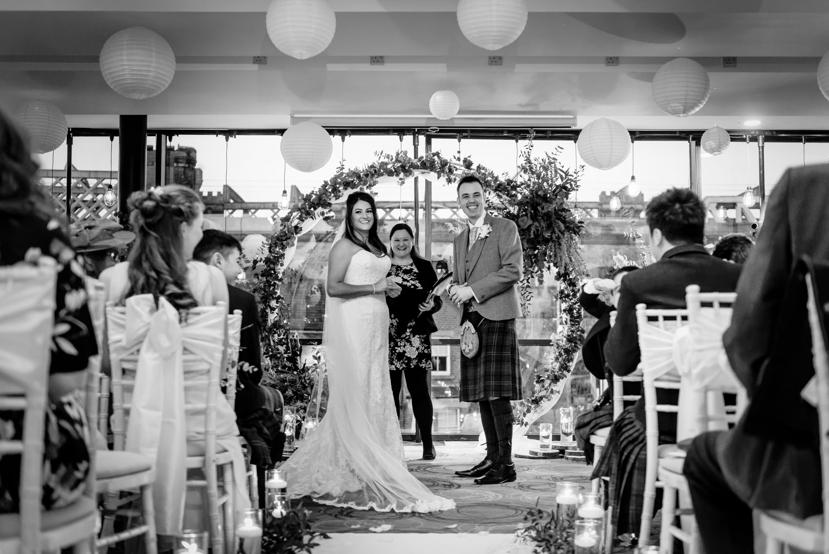 The Castlefield Rooms Manchester Wedding Photography