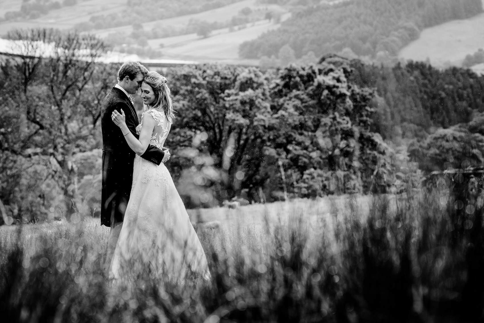 Nidderdale marquee wedding