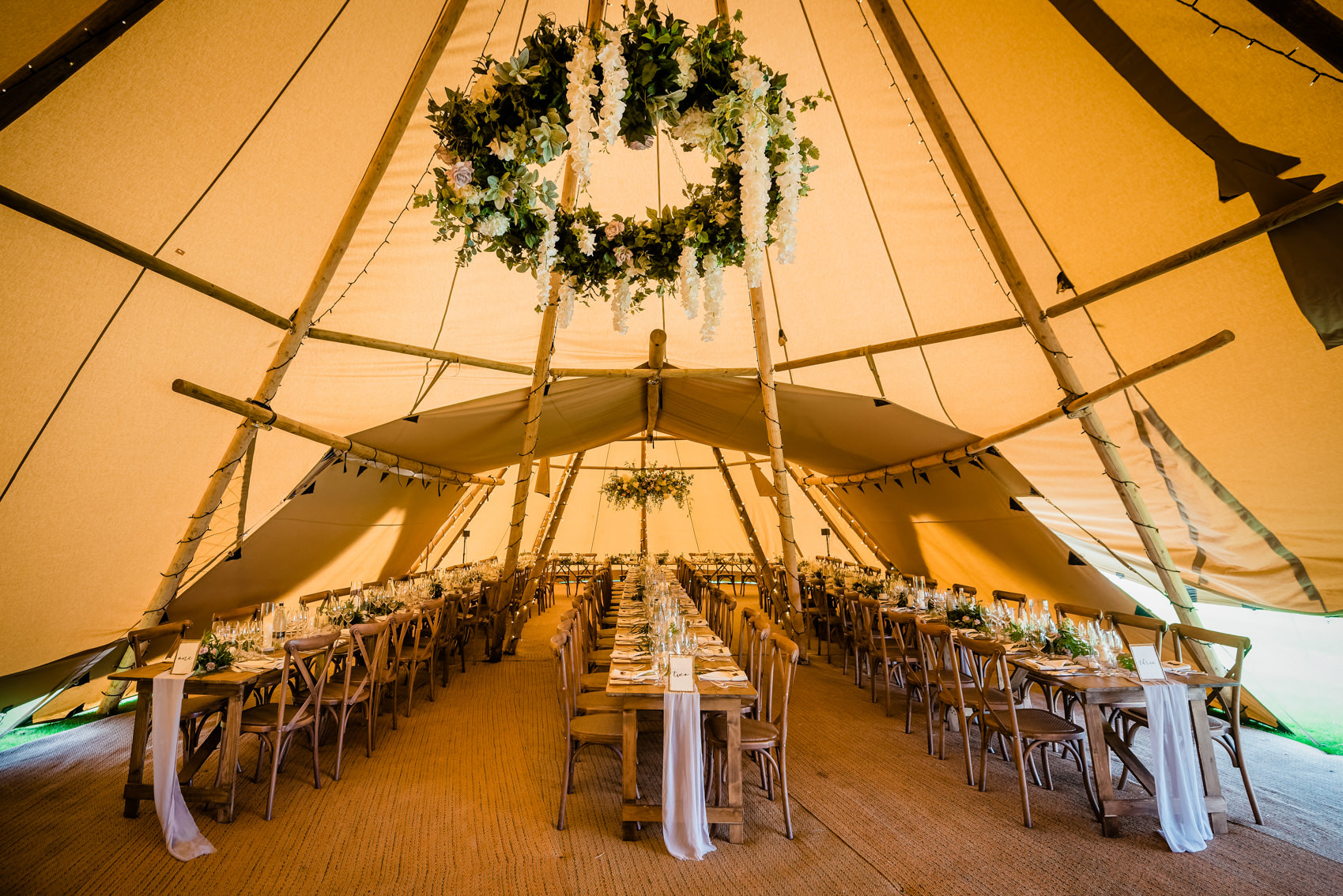 tipi decoration